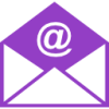 Email Icon Purple